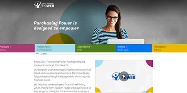 Purchasing Power corporate site
